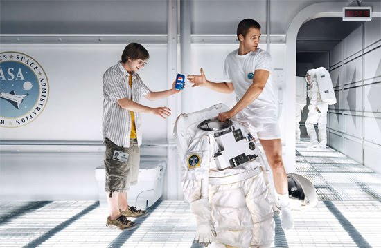pepsi space Award Winning Images of Fun Advertising Campaigns
