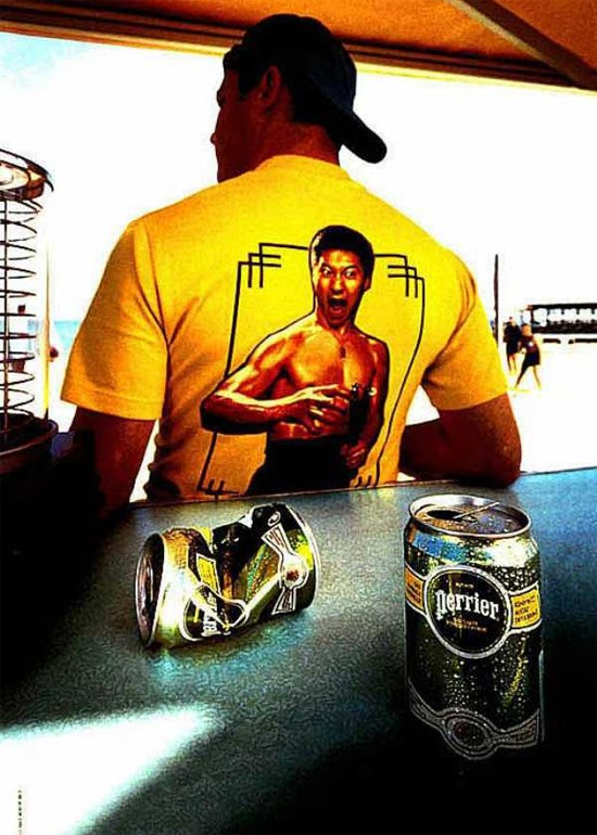 bruce lee Award Winning Images of Fun Advertising Campaigns