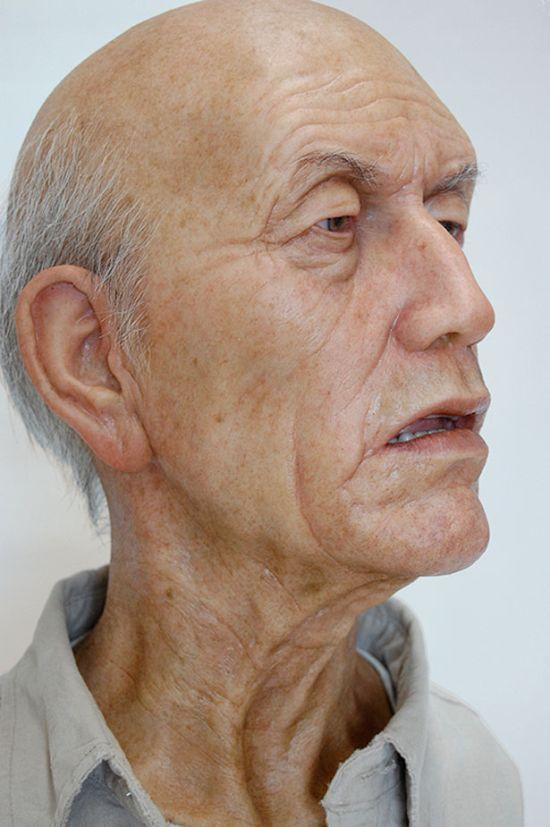 Esculturas hiperrealistas Grandad