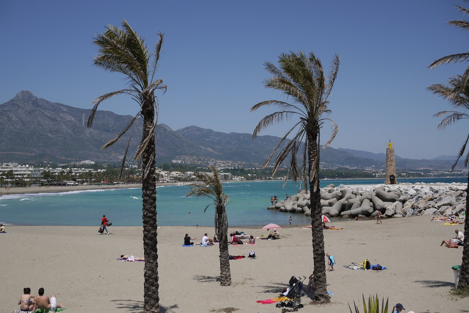In contrast to Puerto Banus,