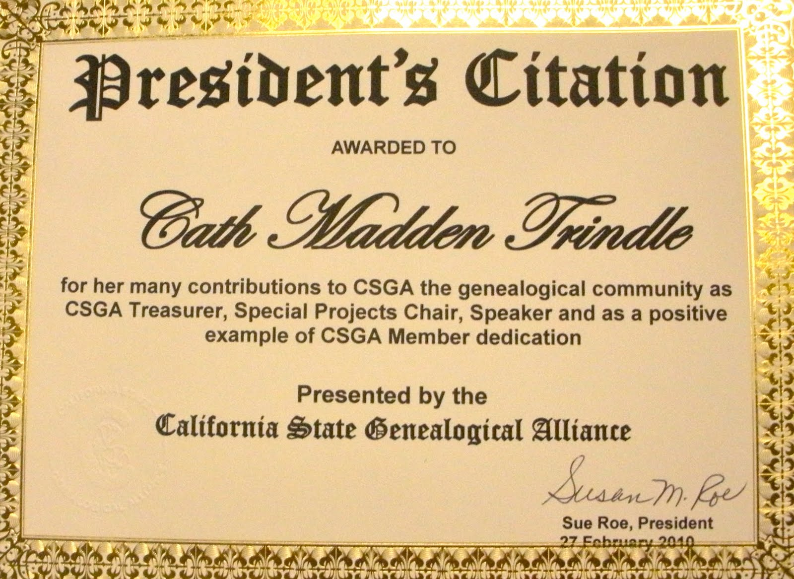 Award Citation Examples http://blog.californiaancestors.org/2010/06/member-spotlight-cath-madden-trindle.html