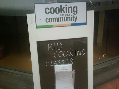 Cooking and your Community: Kid Cooking Classes