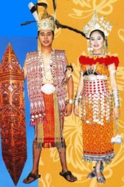 pakaian tradisional orang iban