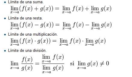 limites por definicion: