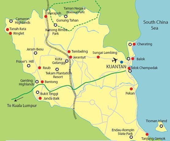 Wonders Of Kuantan Places Of Attraction