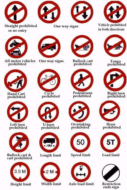 All Road Signs And Their Meaning >> LEARN SAFE DRIVING BPS DRIVING SCHOOL
