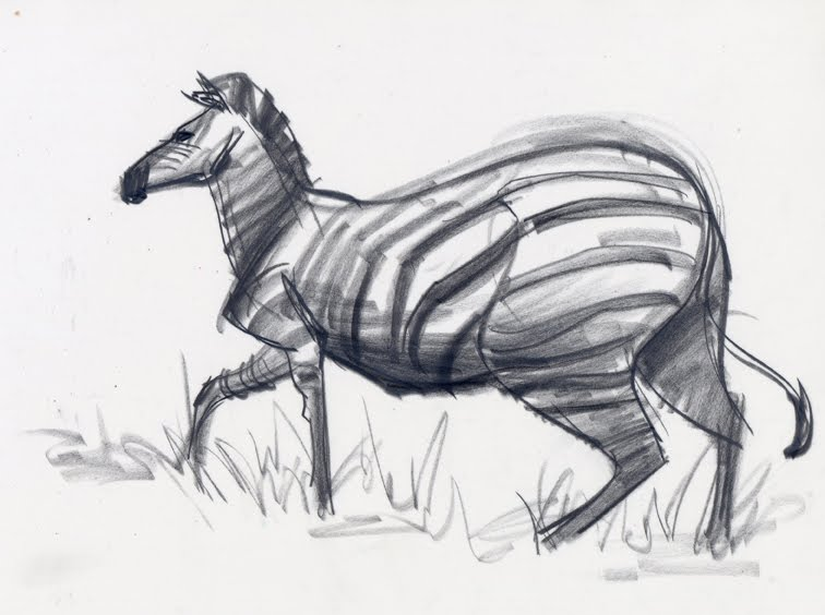 Force Book Drawing Zebra Drawing For New Force
