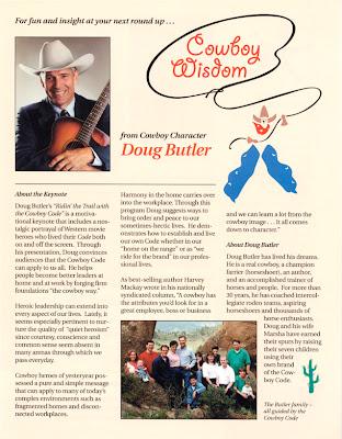 speaker one-sheet content for Doug Butler