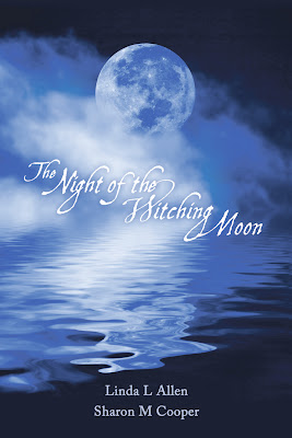 Create an eye-catching book cover : The Night of the Witching Moon