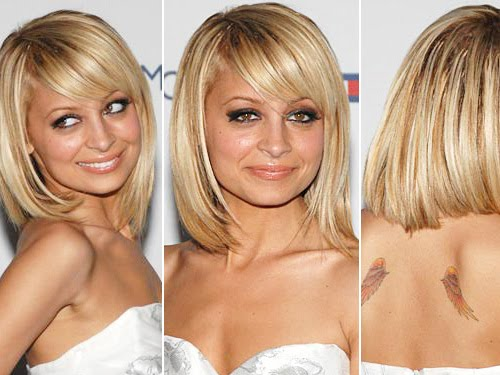 Nicole Richie Short Haircut. I am short and I want to grow