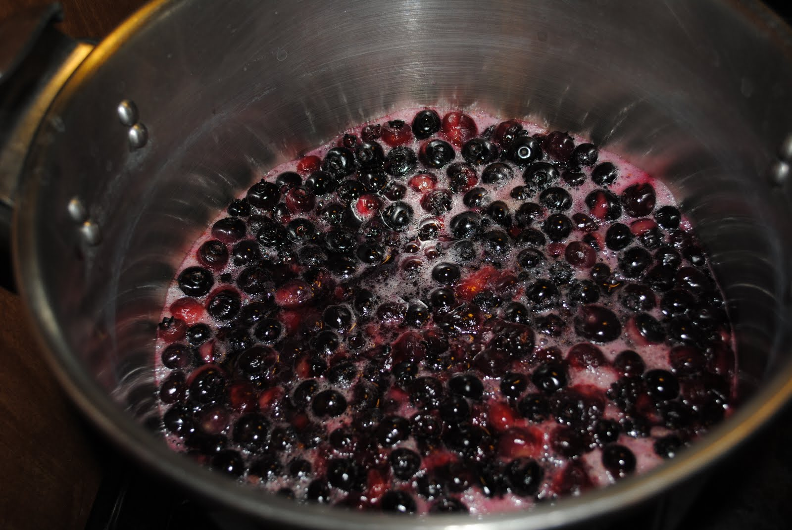 Creative Homesteading: Blueberry Juice Concentrate