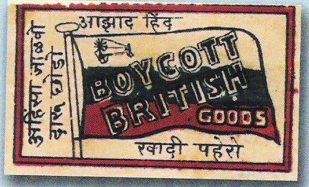 essay on boycott movement in india