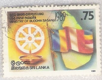 FLAGS And STAMPS International Buddhist Flag