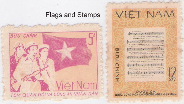 FLAGS and STAMPS: FLAGS in National Anthems and Patriotic Songs ...