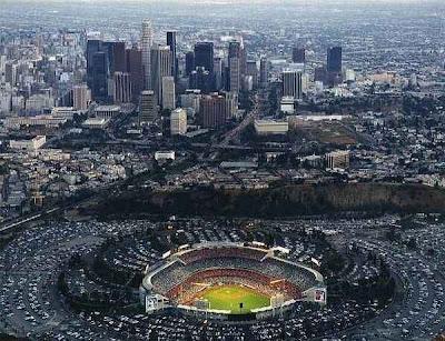 los angeles dodgers stadium. La Dodgers Stadium.