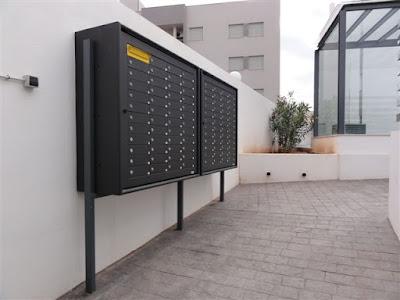 Arregui's multi-dwelling mailboxes