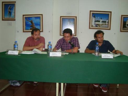 Mesa homenaje a Carlos Moreno Medina
