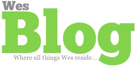 Wes Blog!