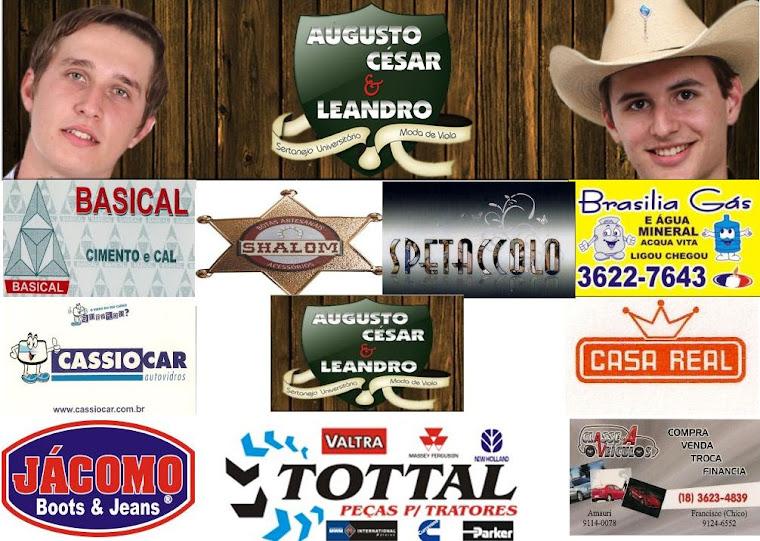 AUGUSTO CESAR & LEANDRO dupla de Araçatuba - SP