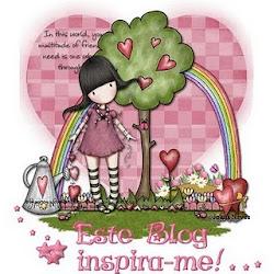 """Selinho:""""este blog inspira-me!"""""""
