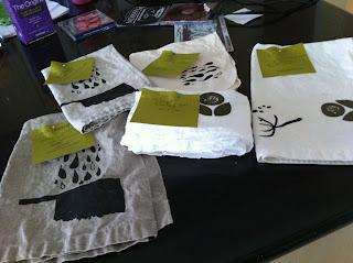 Testing New Linen Tea Towels