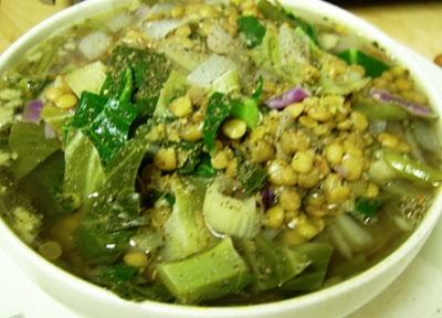 Lentil and Hemp Veggie Soup