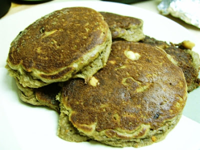 Healthy Gluten Free Buttermilk Nut Pancakes