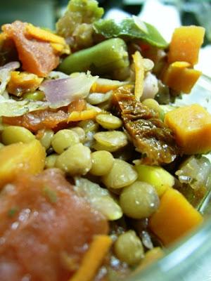 Healthy Vegetable Lentil Stew