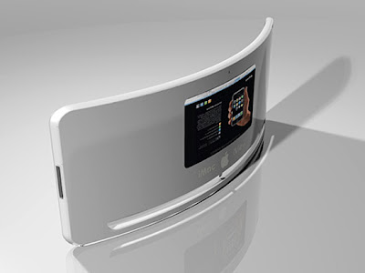 iView, a curved iMac - Computers of the Future