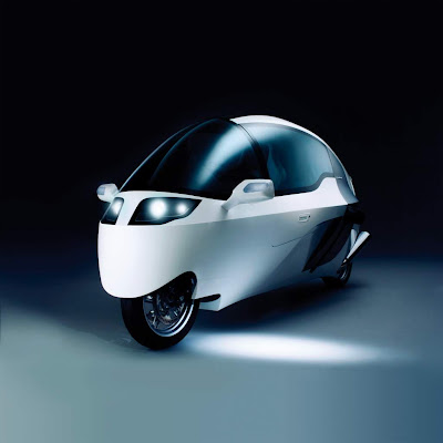 MonoTracer Bike - Two wheeled car