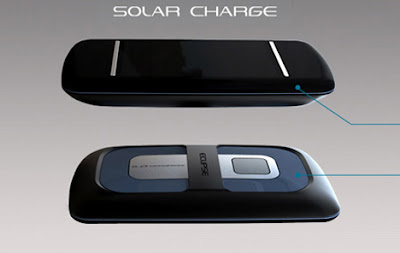 Eclipse Intuit Phone - solar powered phone