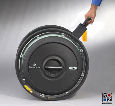 Samsonite OBAG - a rolling concept suitcase