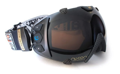 Recon-Zeal Transcend goggles  - GPS and head-mounted display