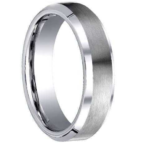 Cobalt Metal Ring Men's Cobalt Chrome Rings