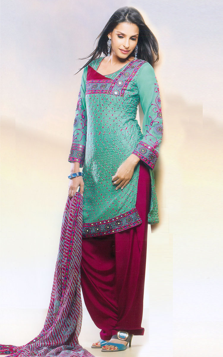 Ladies party wear suits online