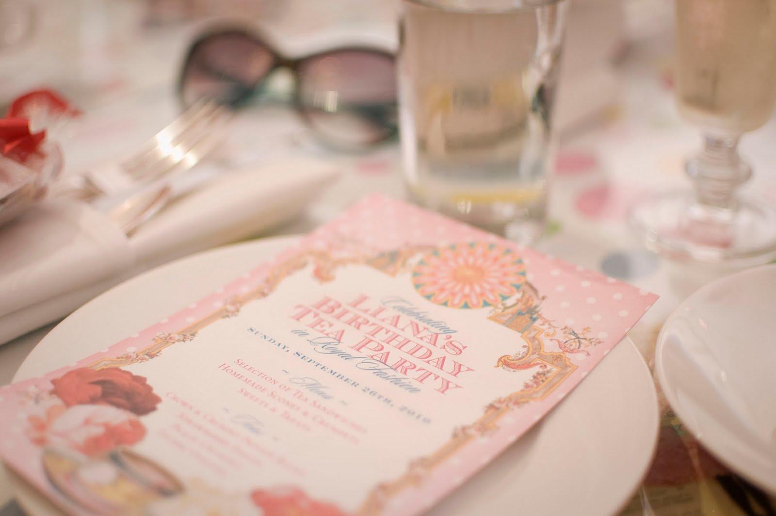 ♥ The Art of Liana Hee ♥: Birthday and tea time!