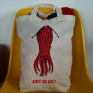 オリジナル編みタコトートバッグ(厚手)