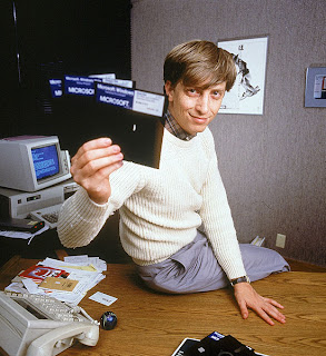 Bill Gates, the richest man in