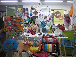 oju illa nomada market stand