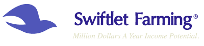 Swiftlet Farming: Million Dollars A Year Income Potential.