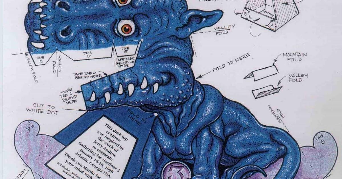 Как сделать дракона смотрящего на тебя