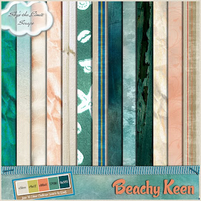 Beachy Keen Papers Freebie by Skys The Limit