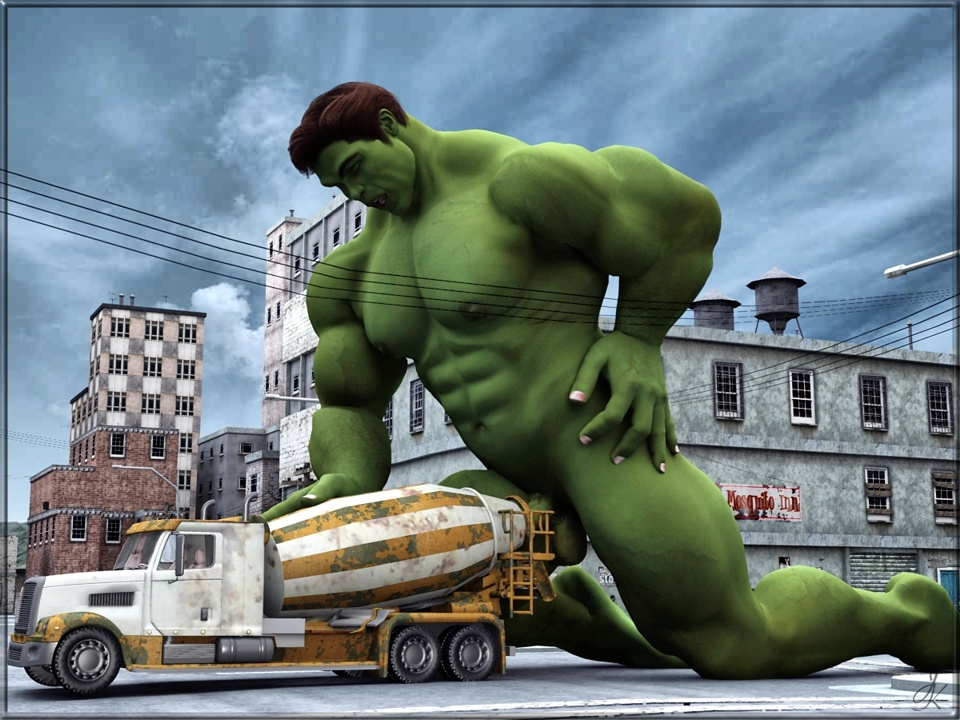 the hulk having naked sex