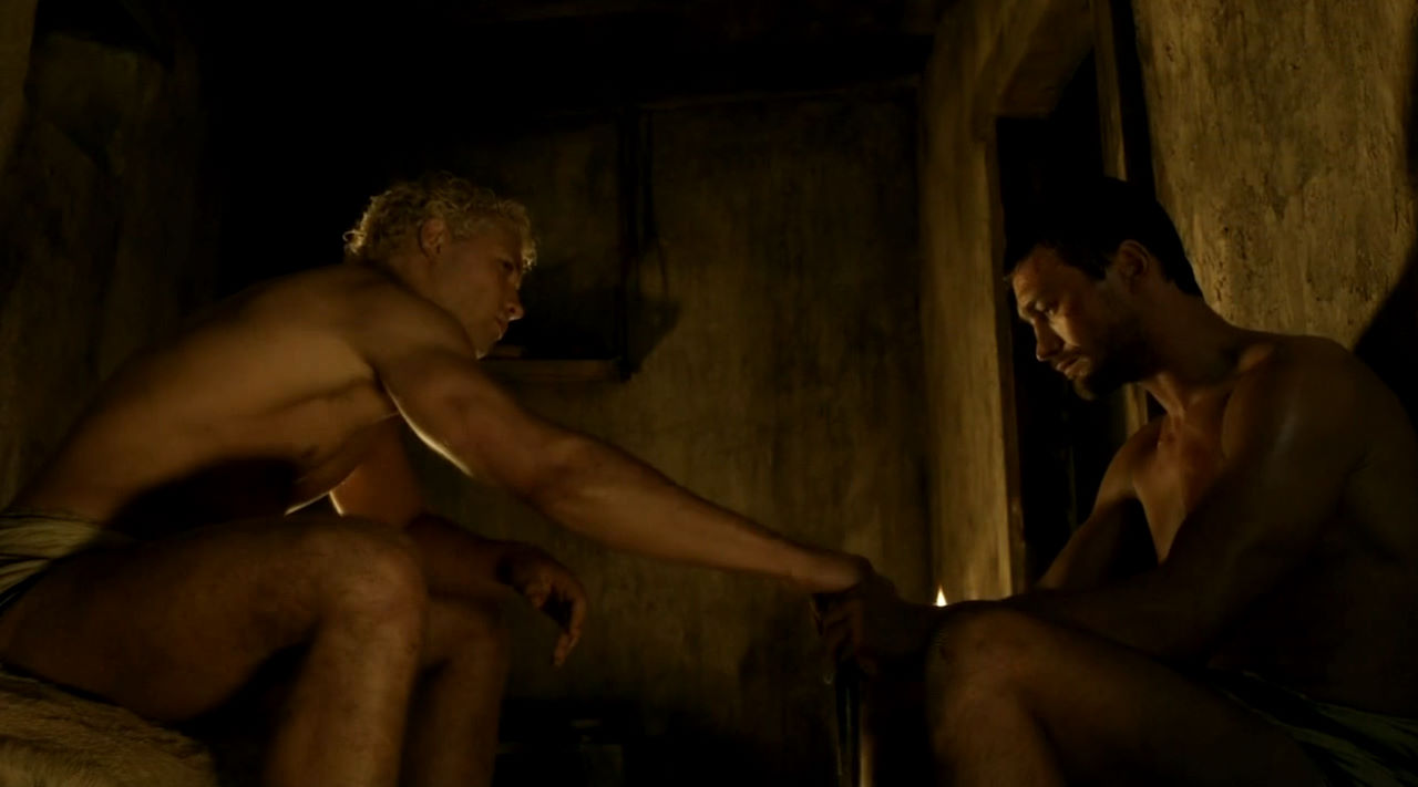 Lucy Lawless Threesome In Spartacus Series  FREE VIDEO