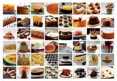 Grandes variedades de doces