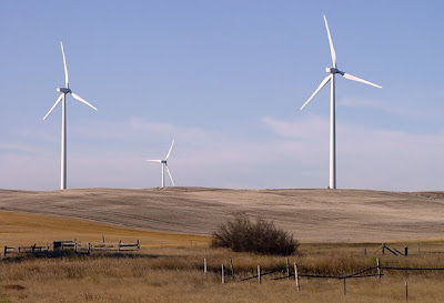 wind turbines, Cut Bank MT