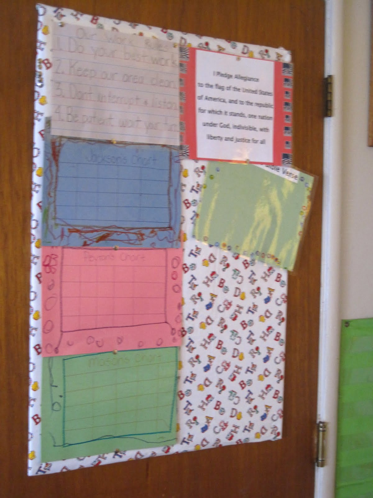 Storing Up My Treasures Diy Budget Bulletin Board