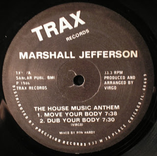 Classic house music marshall jefferson the house music for House music 1986