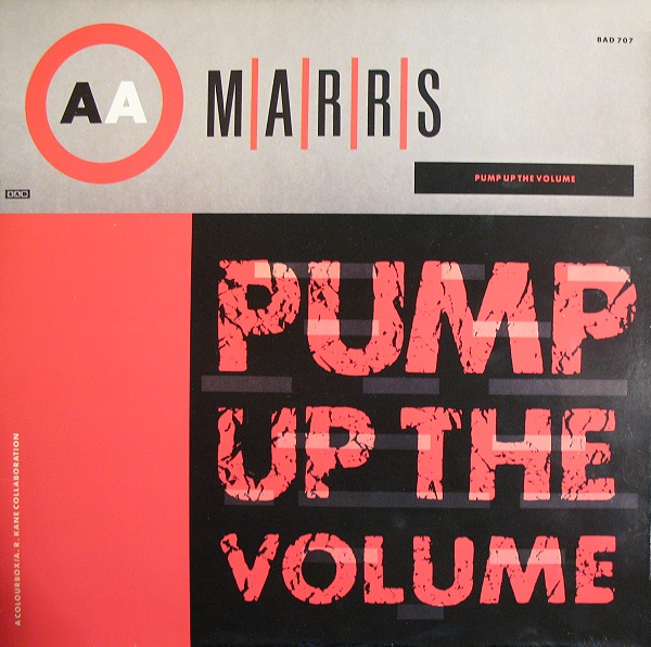 Classic house music marrs pump up the volume 4ad 1987 for Old house music classics