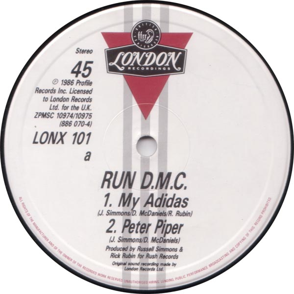 Classic house music run d m c peter piper london 1986 for House music 1986